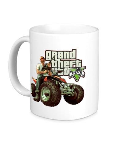 Керамическая кружка GTA 5: Trevor