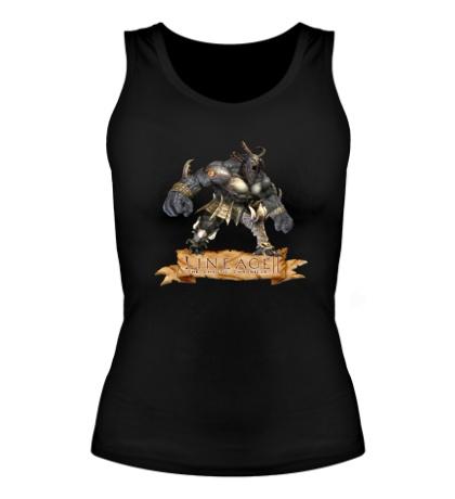 Женская майка Lineage 2: Bull Warrior