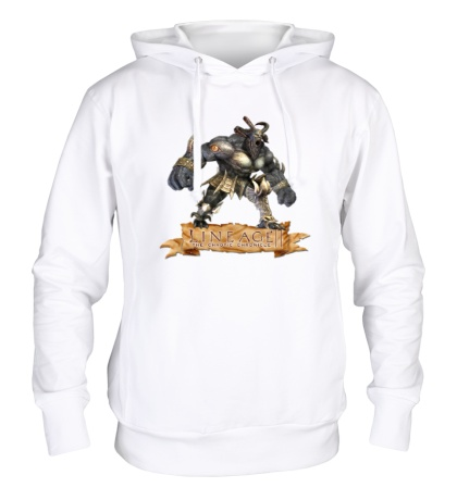 Толстовка с капюшоном Lineage 2: Bull Warrior