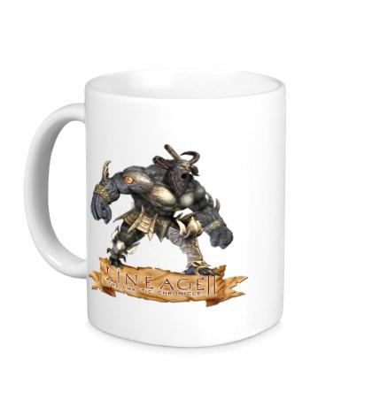 Керамическая кружка Lineage 2: Bull Warrior