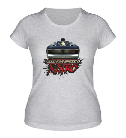 Женская футболка NFS: Nitro