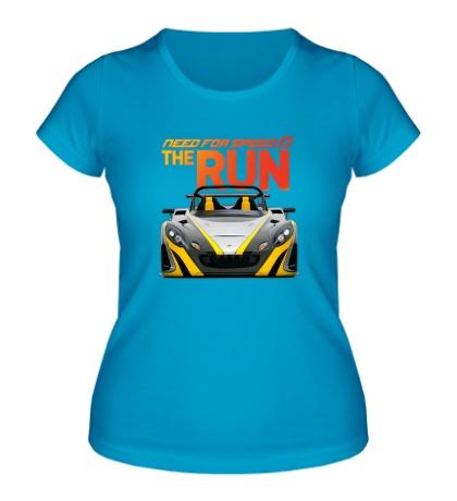 Женская футболка NFS: The Run