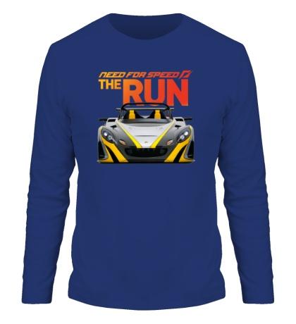 Мужской лонгслив NFS: The Run
