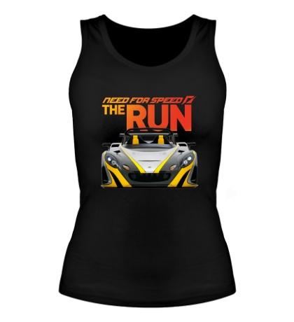 Женская майка NFS: The Run