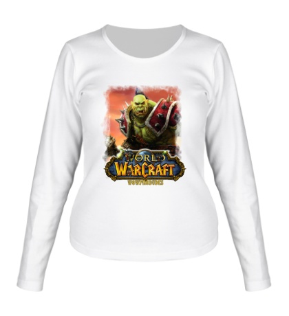 Женский лонгслив WoW: Orcs