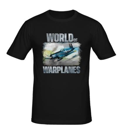 Мужская футболка World of Warplanes Poster