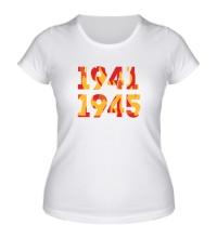 Женская футболка 1941-1945