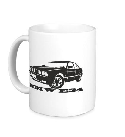 Керамическая кружка BMW E34 Series