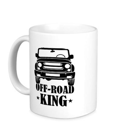 Керамическая кружка Off-Road King
