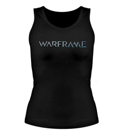 Женская майка Warframe logo