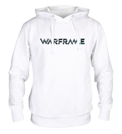 Толстовка с капюшоном Warframe logo