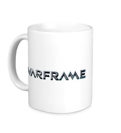 Керамическая кружка Warframe logo