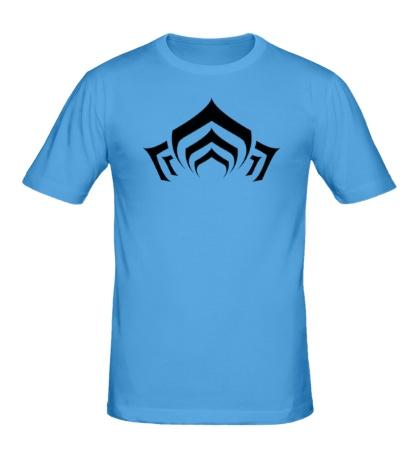 Мужская футболка Warframe: Lotus Symbol