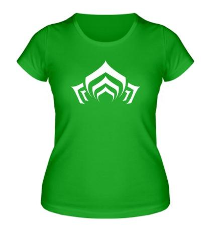 Женская футболка Warframe: Lotus Symbol