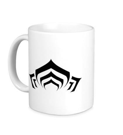 Керамическая кружка Warframe: Lotus Symbol