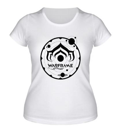 Женская футболка Warframe: Solar System