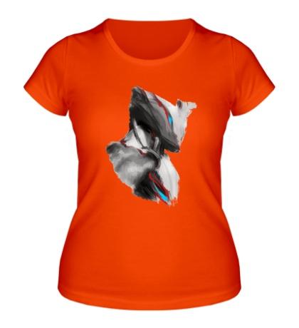 Женская футболка Warframe: Excalibur