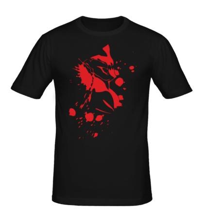 Мужская футболка Warframe: Blood Excalibur