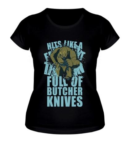 Женская футболка Warframe: Rhino