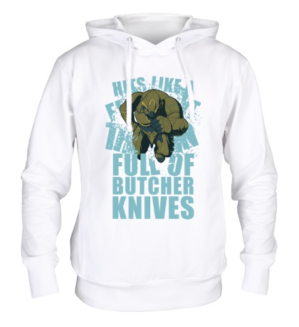 Толстовка с капюшоном Warframe: Rhino