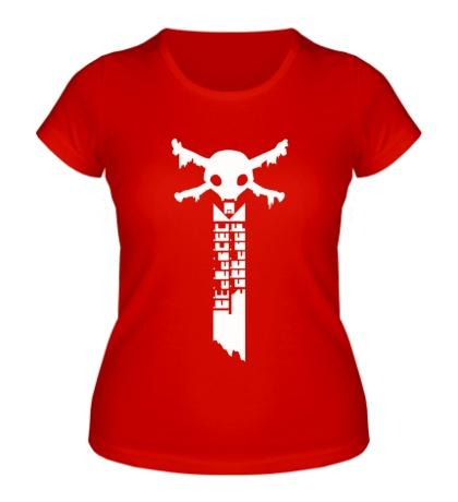 Женская футболка Warframe: the sword of death