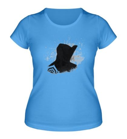 Женская футболка Warframe: Dark Excalibur