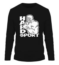 Мужской лонгслив Hard sport