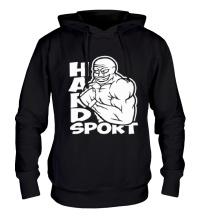 Толстовка с капюшоном Hard sport