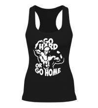 Женская борцовка Go hard or go home