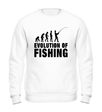 Свитшот Evolution of Fishing