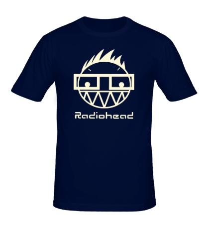 Мужская футболка «Radiohead Boy Glow»