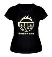 Женская футболка Radiohead Boy Glow