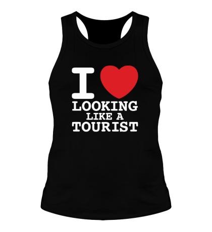 Мужская борцовка I Love Looking Like A Tourist