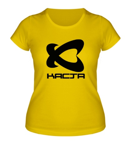 Женская футболка Каста