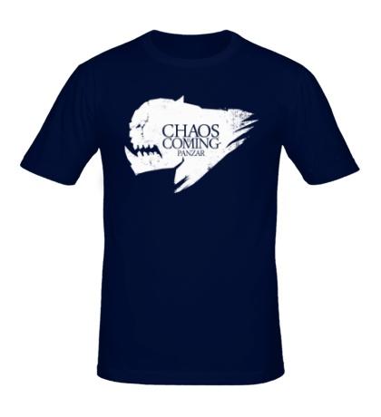 Мужская футболка Ghaos is coming panzar
