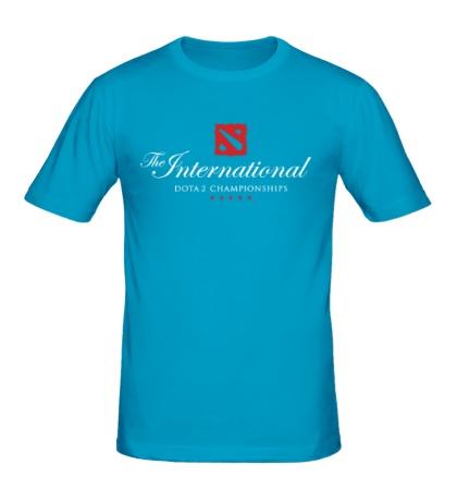 Мужская футболка The International