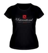 Женская футболка The International