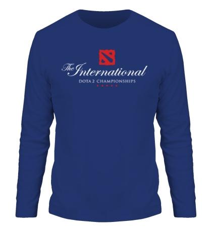 Мужской лонгслив The International