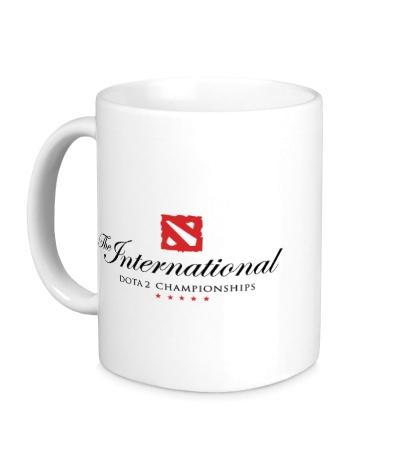 Керамическая кружка The International