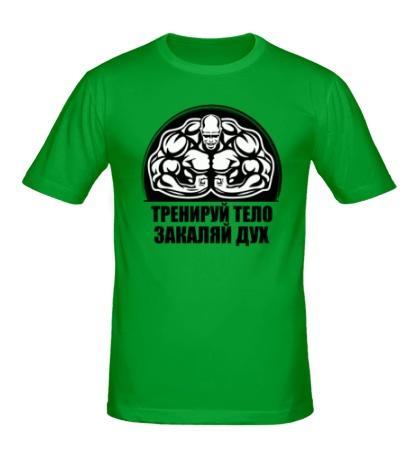 Мужская футболка Тренируй тело, закаляй дух
