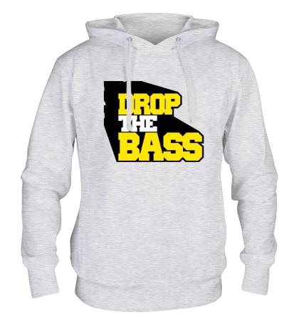 Толстовка с капюшоном Drop The Bass