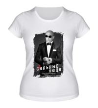 Женская футболка Путин: стильные люди