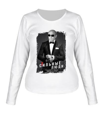 Женский лонгслив Путин: стильные люди