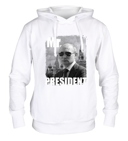 Толстовка с капюшоном Mr. President Putin