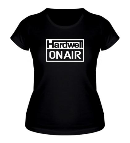 Женская футболка Hardwell on Air