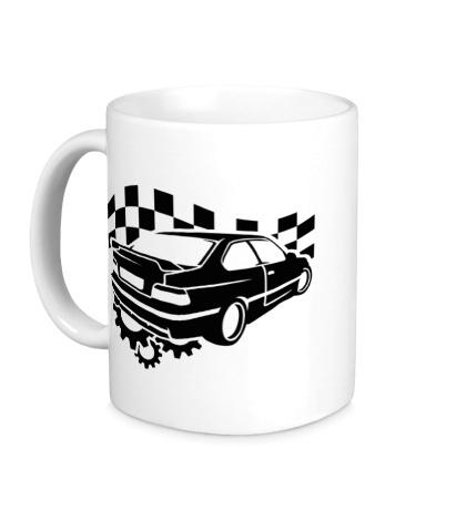 Керамическая кружка BMW E36 Sports