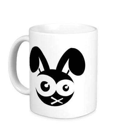 Керамическая кружка Зомби заяц
