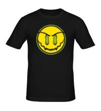 Мужская футболка Зловещий смайл