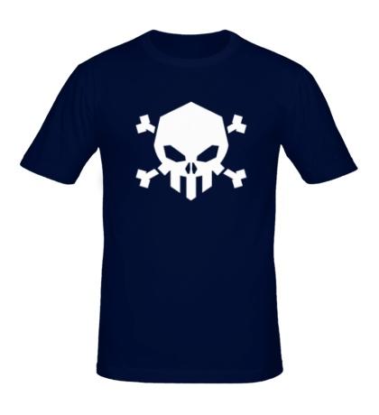 Мужская футболка Череп Роджера