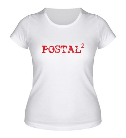 Женская футболка Postal 2